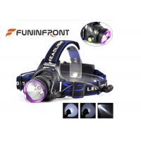 China 10W Rechargeable Outdoor LED Headlamp, 3 Light Modes 1000LM Bike Headlight wholesale