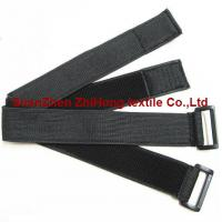 China Elastic un-brushed hook and loop binding straps/wrist/arm straps on sale