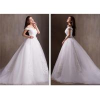 China Off Shoulder Lace Wedding Dress wholesale