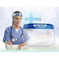 China Breathable Safety Dental Face Shield PET Material 32×22cm With Thick Sponge wholesale
