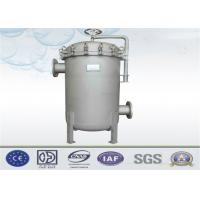 China Liquid Multi Bag Filter Housing Inlet / Outlet Customized For Water Filtration System wholesale