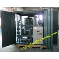 China Weather-Proof (Enclosed Type) Vacuum Dielectric Oil Filtering Unit , Transformer Oil Purification Machine wholesale