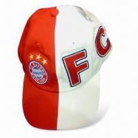 China 100% Cotton Promotional Cap with Embroidery, Customized Designs are Accepted on sale