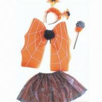 China Halloween Wings Set, Made of 100% Polyester, Available in Pink, Blue and Purple wholesale