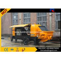 China High Efficiency Electric Concrete Pump S Pipe Valve Anti - Wearing Hydraulic Liquid wholesale