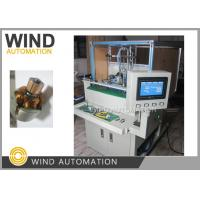 China Double Station Armature Electric Motor Winding Machine / Small Rotor Winder wholesale