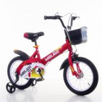 China steel frame 16 inch red color kid bike for 3-8 years old children bicycle wholesale