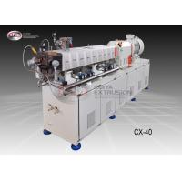 China POM Twin Screw Extruder Machine / Twin Screw Compounding Extruder 40mm wholesale