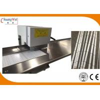 China Pizza Wheel Motorized V-Cut LED PCB Depanel Machine with Two Round Blades wholesale