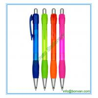 China gripped plastic promotional pen, gift use plastic pen from china wholesale