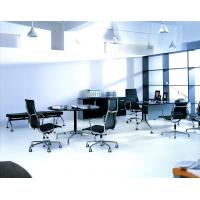 China Ribbed Look Aluminum Group Management Chair For Large Conference Tables on sale