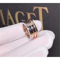 China Bvlgari  three color  ring in 18 kt  yellow gold or white gold wholesale