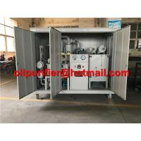 China Hot ! Transformer Oil Filtration Plant, MIneral Dielectric Insulator Oil Purification Machine with weather-proof canopy wholesale