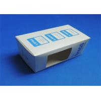 China PVC Window Custom Packaging Boxes Full color / Single Color Gloss Lamination wholesale