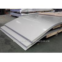 China SUS JIS EN Cold Rolled Stainless Steel Sheet / Cold Roll Steel Plate on sale