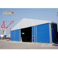 China Big Industrial Storage Tents / Aluminum Frame Tents With Sandwich Hard Wall wholesale