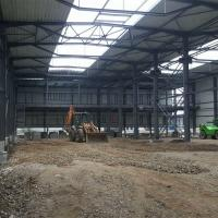 Buy cheap New Design Steel Structure Prefabricated Industrial Shed Construction from wholesalers