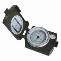 Quality Professional Compass with Degree Viewer and Leveler, Made of Aluminum Alloy for sale