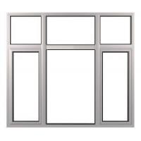 China Double Leaves Tilt-Turn Window with Fixture wholesale