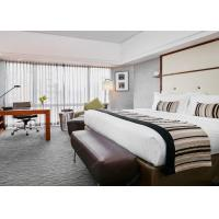 China Solid Wood Hotel Bedroom Furniture Sets Laminated Particle Board wholesale