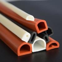China Good elastic silicone rubber tube/flame retardant rubber pipe/masking rubber tube wholesale