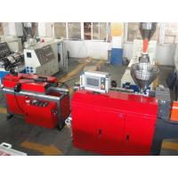 China PP PE PA PVC Single Wall Corrugated Pipe Production Line / PVC Pipe Extruder wholesale