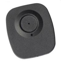 Quality High quality plastic alarming tag EAS RF black security tag for supermarket anti for sale