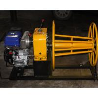 China 5 Ton wire rope winch wire winding machine with Yamaha gasoline engine on sale