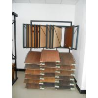 China Promotional MDF / wood Flooring Display Racks Stand wire, sheet metal material for exhibit wholesale