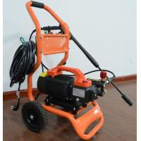 China 120V / 240V Induction motor Commercial grade high pressure washer for hand carry or cart push with crankshaft pump wholesale