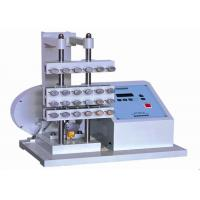Buy cheap PLC Control Demattia Flex Tester , Rubber Flex Crack Testing Equipment AC220V 50Hz from wholesalers