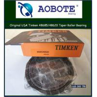 China Single row Gcr15 / carbon steel  NTN / Timken Tapered Roller Bearing 48685 / 48620 wholesale