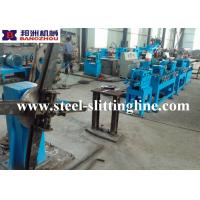 China Flat Bar Machine For Steel Strips Chamfering, Deburing and Straightening on sale