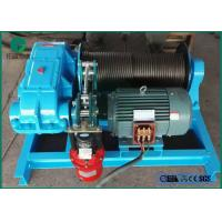 China 5-25MT Sing Drum or Double Drums Electric Boat Winch Manufacturer Supply on sale