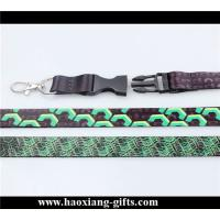 China no minimium order quantity polyester sublimation lanyard for ID card holder wholesale