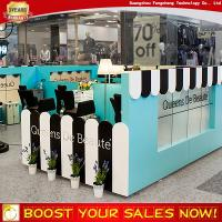 China Sweet country style eyebrow threading kiosk design for sale on sale