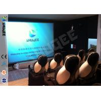 China 5D Durable Movie Cinema Motion Chair 2 Seats / set With Vibration / Jet And Shift wholesale