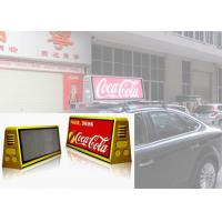 China Waterproof Outdoor Mobile LED Screen Moving Advertising Taxi Top Display P5 IP65 wholesale