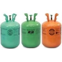 China r22 refrigerant for auto air conditioners high purity in 30lbs/25Lbs refillable cylinder wholesale