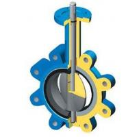 Quality DN 100 PN 16 water butterfly valves SS Body By Lever Operated And Seat is EPDM for sale