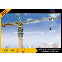 Quality Hydraulic Hammerhead Tower Crane Lifting Capacity 4 Tons Mast Section 1.494*1.494*2.2m for sale