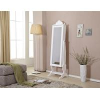 China Floor Mirror With Jewelry Storage , Tilted Mirror Jewelry Cabinet wholesale