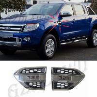 China Plastic Wind Port Cover Fender Side Air Outlet Air Flow Outlet Cover Trim For Ford Ranger wholesale
