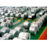 China Chromated Galvanized Metal Strips , Sheet Metal Coil Oiled / Unoiled Surface on sale