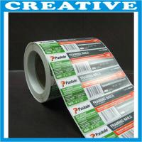 China self-adhesive label/sticker wholesale