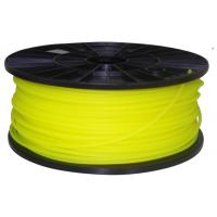 Buy cheap 3D printer filament PLA 1.75mm 1kg Fluorescence Yellow from wholesalers
