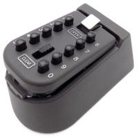 Buy cheap Security Wall Mounted Protable Safe Combination Key Storage Box Black Color from wholesalers