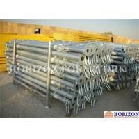 China High Loading Capacity Scaffolding Steel Prop Q235 Steel Pipe Zinc Plated Surface wholesale