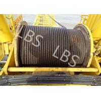 China Integral Type Lebus Groove Drum Winch For Offshore PlatformTower Crane wholesale