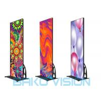 China Flat Led Poster Screen P2.5 3840Hz Smart Control Wifi 3/4G Mobile Phone APP wholesale